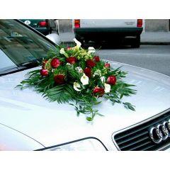 Autogesteck für Hochzeit
