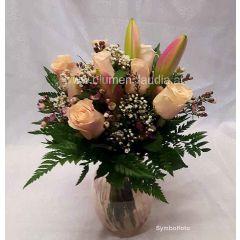 2 Wochen Blumenstrauß Abo