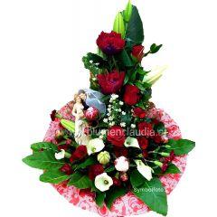 Hochzeits Gratulationsstrauß